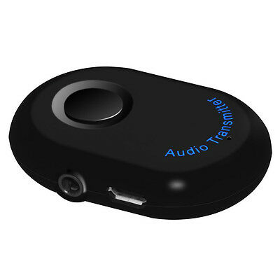 1to2 3.5mm Bluetooth V4.0 Transmitter Stereo Audio Music Adapter for iPod TV PC