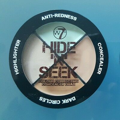 "W7 Hide ""n"" Seek Quad Green + Free Postage"