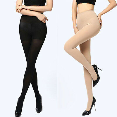 Thick Socks Stockings Footed Tights Women Pantyhose 150D Opaque