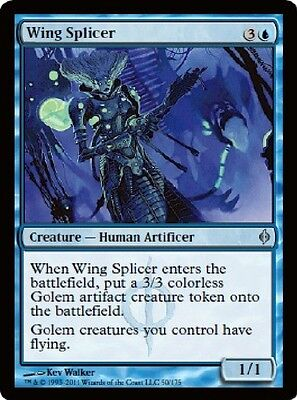 2x MTG: Wing Splicer - Blue Uncommon - New Phyrexia - NPH - Magic Card