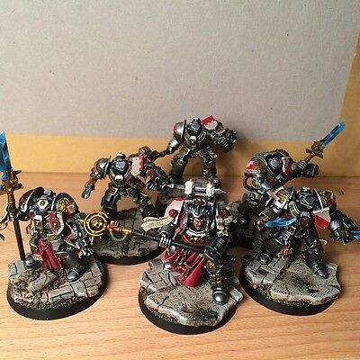 Well Painted GREY KNIGHT army 40k Warhammer 40,000
