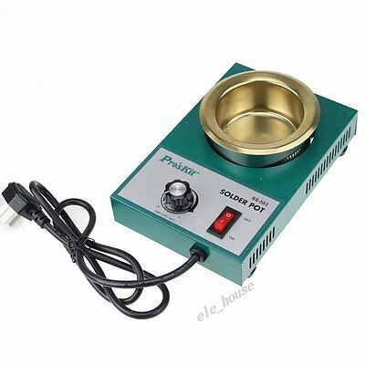 ProsKit SS-553 250W Solder Pot Stannum Tin Furnace For Melting Stainless Steel