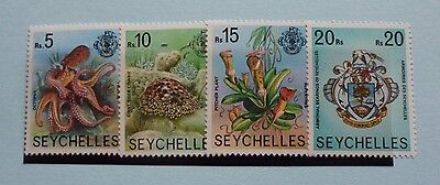 Seychelles Stamps, 1977-1984, SG416A-419A, Mint Never Hinged