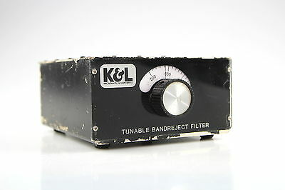 K&L 3TNF-500/1000-N Tunable Notch Bandreject Microwave Filter 500-1000 MHz