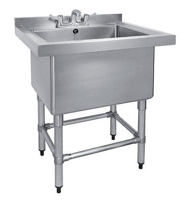 Stainless Steel Single Pot Wash Catering Sink - (PW-900-CB-1)
