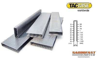 Tacwise 90 Type Narrow Crown Staples