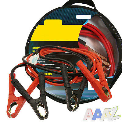 Heavy Duty 400Amp Car Van Jump Leads 3 Metre Long Booster Cables Start