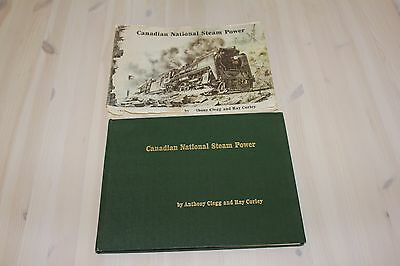 Canadian National Steam Power by Anthony Clegg and Ray Corley