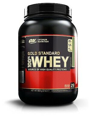 OPTIMUM NUTRITION GOLD STANDARD 100% WHEY PROTEIN, 908g, Chocolate Mint
