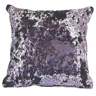 Shimmery Soft Crushed Velvet Lavender Lilac Cushion Cover £6.49 Ea Free Postage