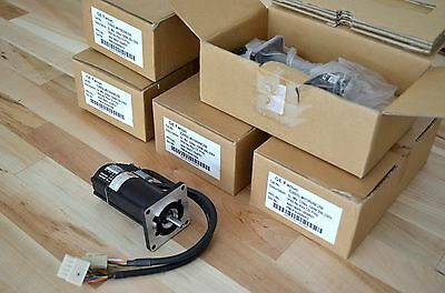 New GE Fanuc SL Series Nema23 AC Brushless Servo Motor 100w 3000rpm -CNC DIY Kit
