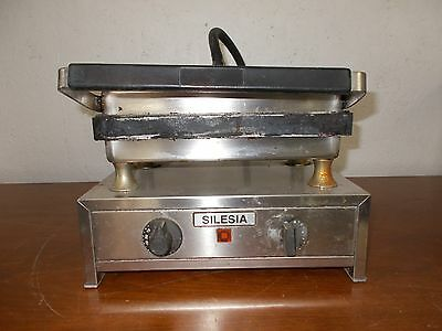 Silesia Velox T-1 Contact Grill 240V 15A Commercial Restaurant Professional