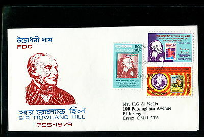 1979 Bangladesh FDC. Sir Rowland Hill Death Anniversary. First Day Cover