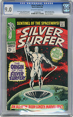 1968 Silver Surfer 1 CGC 9.0