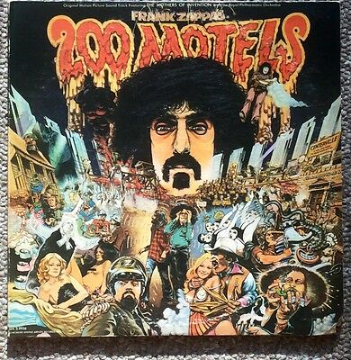 Frank Zappa 200 Motels Original 2LPs With Booklet