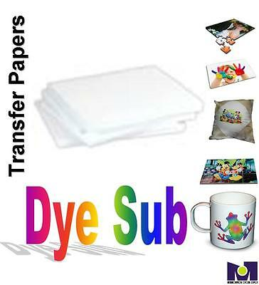 Transfer paper Dye Sublimation 100 sheets.8.5x11