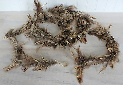 """Pheasant Feathers Garland 94"""""""