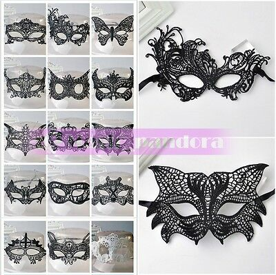 Sexy Lace Eye Mask Halloween Party Venetian Masquerade Ball Fancy Dress Costume