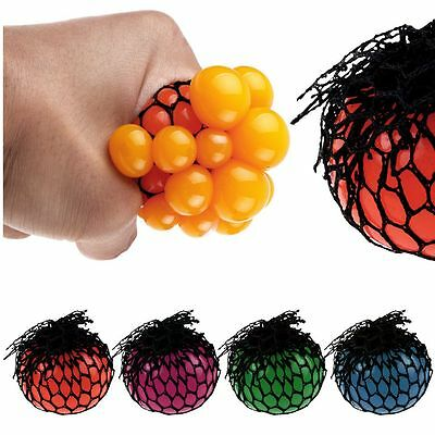 Anti stress Grape ball 7cm Large Size Squeezable Relief Toy Random delivery