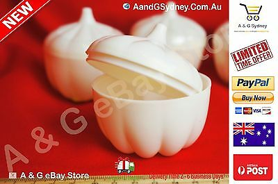 2x GARLIC SAVER Garlic Keeper Store Container Keep it Fresh Bulk Price 2017 1122