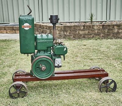 RONALDSON TIPPETT STATIONARY ENGINE dual fuel