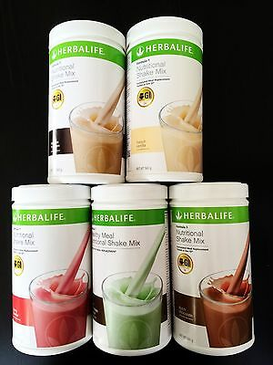 2 x Herbalife F1 Weight Loss shake, Nutritional Meal Replacement