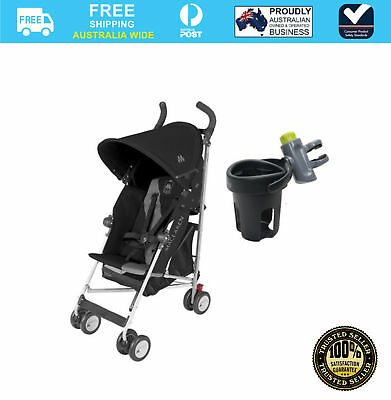 Maclaren Triumph Stroller & Brica Drink Bottle Cup Holder #`B1051