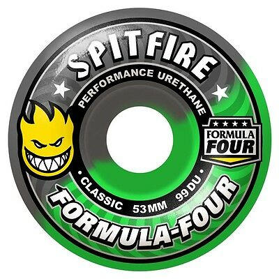 Spitfire - Formula 4 Fall Out Swirl 54MM 99A Skateboard Wheels