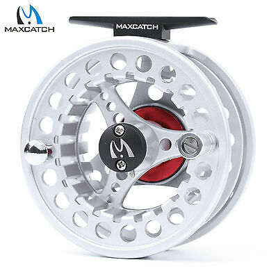 Maxcatch 5/6WT Large Arbor Aluminum Right or Left-Handed Fly Fishing Reel