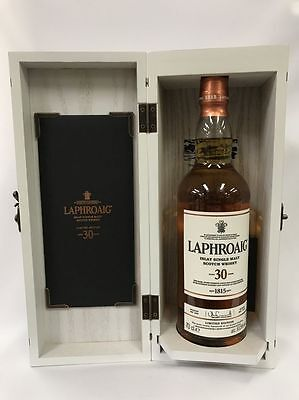 Laphroaig 30 Year Old Single Malt Old Islay Scotch Whisky 700Ml In Box