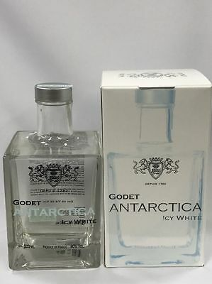 Godet Antarctica Icy White Cognac French France 500Ml Special Gift Boxed