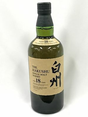 The Hakushu 18 Year Old Sinlge Malt Japanese Whisky Rare Premium Limited Boxed