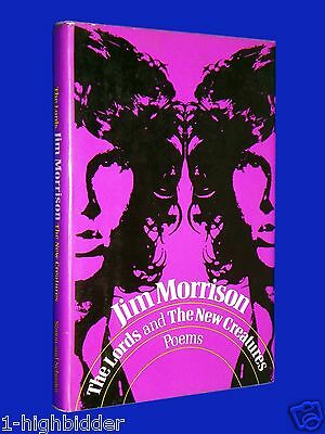 Lords & New Creatures 1st Ed Jim Morrison Doors HCDJ Hardcover w/ Dust Jacket