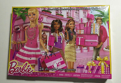 Barbie Advent Calendar, NEW IN FACTORY SEALED PACKAGE