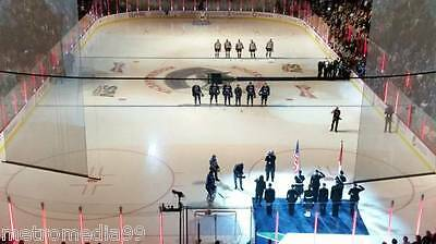 SAT FEB18 CALGARY FLAMES vs VANCOUVER CANUCKS UP TO 16 TICKETS FRONT ROW2-ROGERS