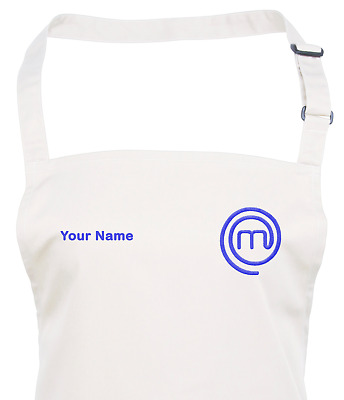 Personalised MasterChef Logo Apron - Embroidered - 10 Apron & Logo Colours
