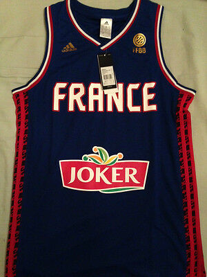 Maillot Equipe de France Basket-ball 2015 NEUF EMBALLE TAILLE L