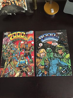 2000 AD 1986 and 1988 Annuals