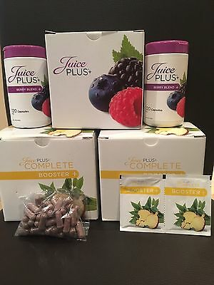 Juice Plus 1 Month Booster & Berry Capsules