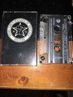 THE SISTERS OF MERCY SOME GIRLS WANDER BY MISTAKE Cassette Tape