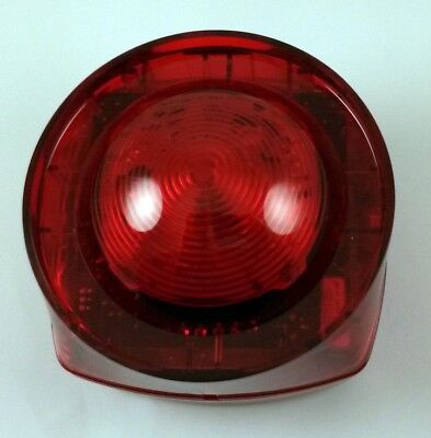Conventional Strobe Light Unit Red Lens  Ip65 - Fire Alarm