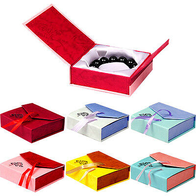 Fab 1PC High Quality Jewellery Gift Boxes Bag Necklace Bracelet Ring Set Small