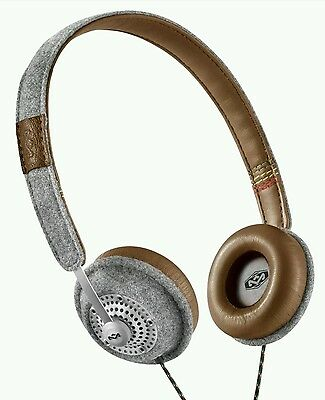 Marley Em-Jh041- Sd Harambe On Ear Headphones  One Button  Remote With Mic
