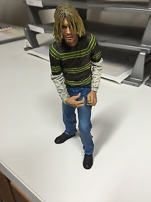 Collectable Kurt Cobain Figure Doll With Music Stand Nirvana