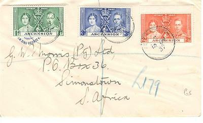 a39 Ascension cover to South Africa