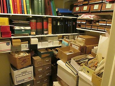 "Large ""TREASURE HUNT"" WW & US BOX-LOT Unsearched Stamps, Pages, Covers & More!"
