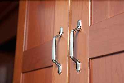 Decorative Spoon Foot Kitchen Bath Cabinet Handle Drawer Pull Hardware 10-Pack