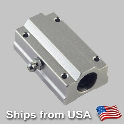 Linear Bearing Busing SCS8LUU SC8LUU for 8mm Shafts CNC Router Mill Linear Stage