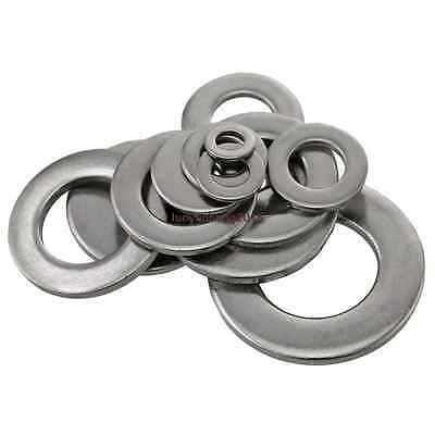 A4 316 Stainless Steel Form A Flat Washers To Fit Metric Bolts & Screws M2-M24