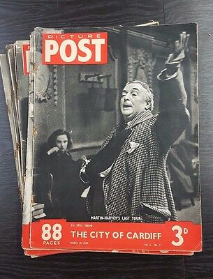 Picture Post Magazines - 10 Issues starting March 18th 1939